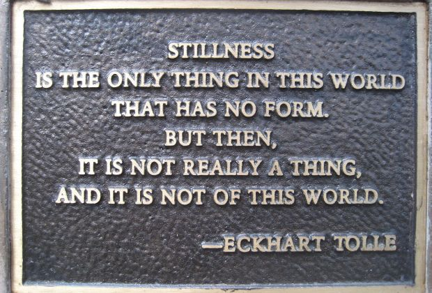 eckhart tolle sign