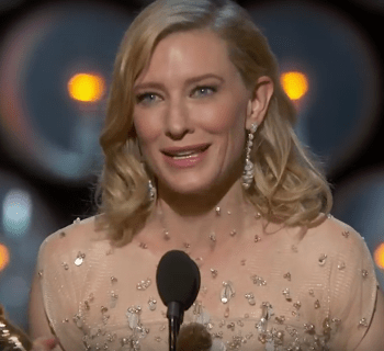 Cate Blanchett speech