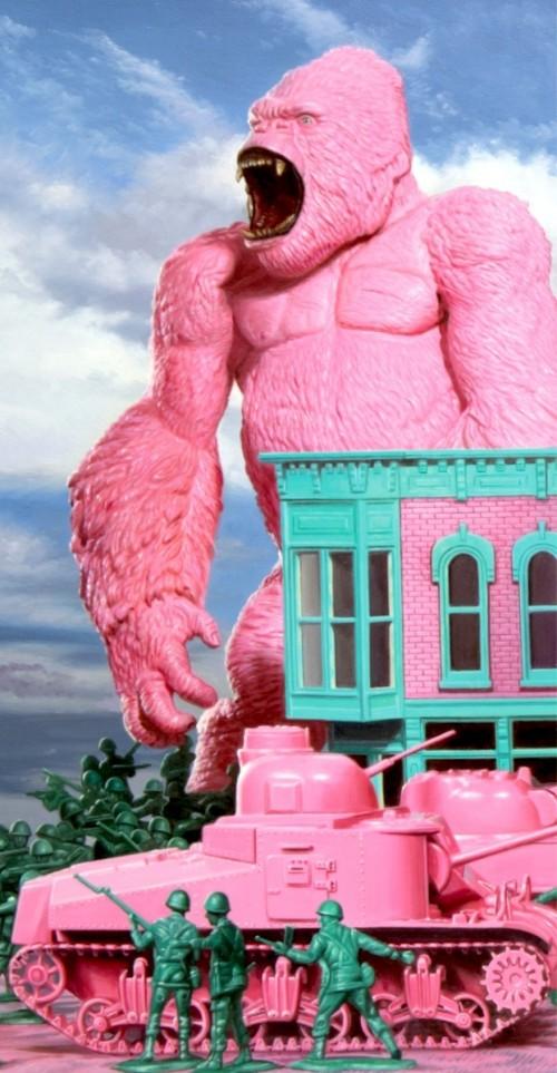 pink-gorilla-by-ron-english