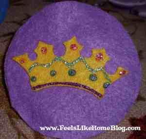 King David - Crown ornament