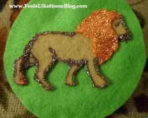 Daniel - Lion ornament