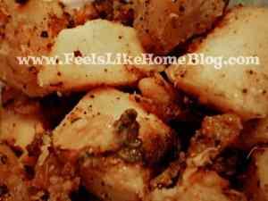 tangy pan-fried potatoes