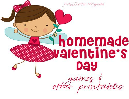 printable valentines games