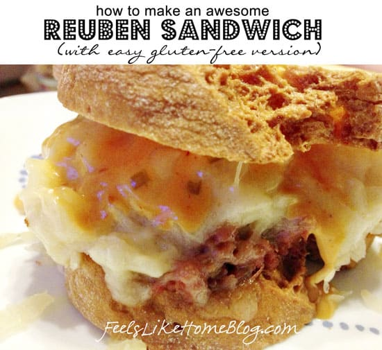How to Make Homemade Reuben Sandwiches (Can Be Gluten-Free)