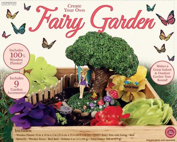How to make a fairy garden for under 20 for Fairy garden kits