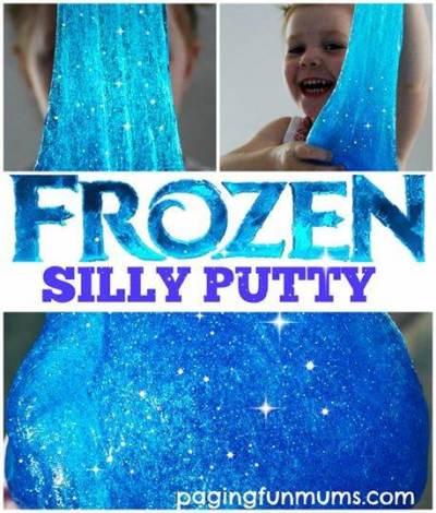 Disney Frozen silly putty