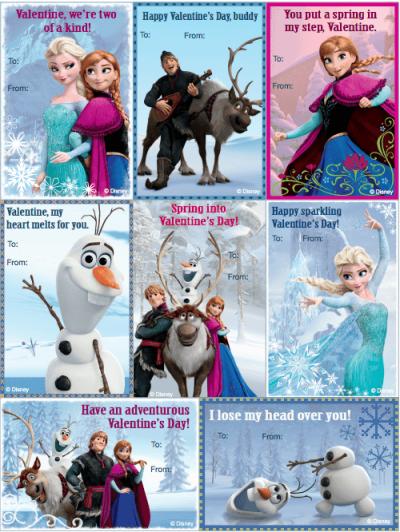 Frozen ideas for valentine's day