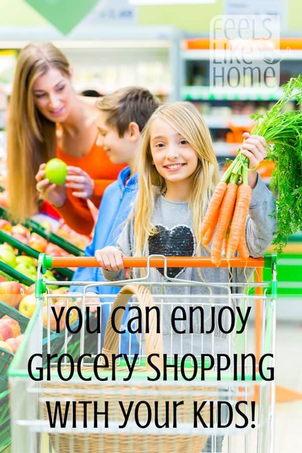 It is possible to enjoy grocery shopping even when your kids are along! This hilarious post has really great tips for making it easier.