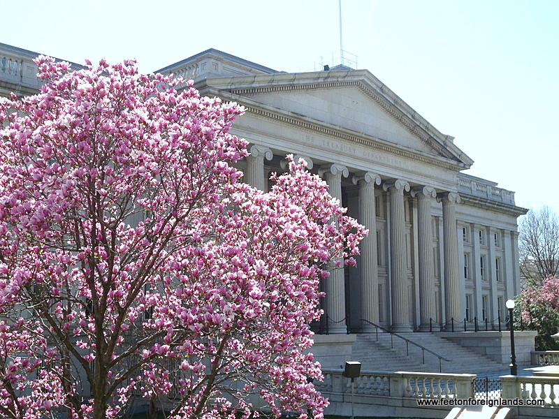 What Days Can I Tour The Treasury In Washington Dc