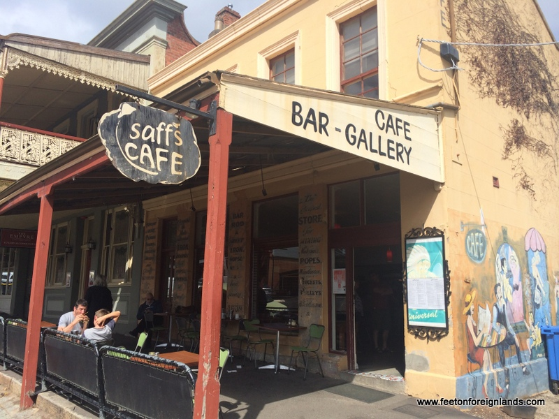 Saff S Cafe Castlemaine Menu