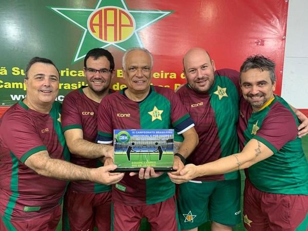 AA Portuguesa. Bicampeã brasileira de Sectorball