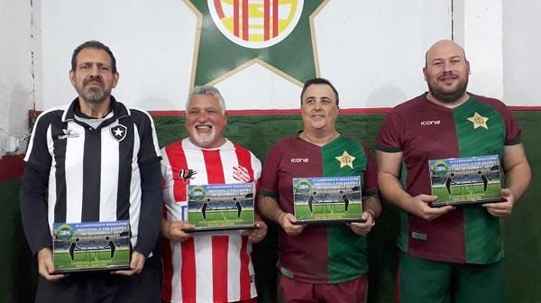 1º Weber Gomes (BFR), 2º Marcelo Coutinho (BAC), 3º Edno Alessandro (AAP) e 4º Toninho Rodrigues (AAP)