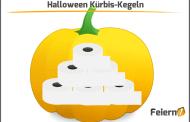 Halloween Kürbis-Kegeln