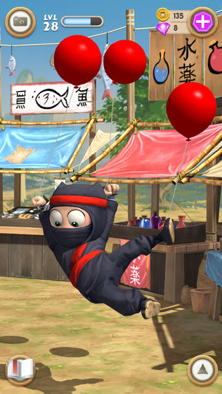 Magic Touch 3d Wallpaper Clumsy Ninja Apk Android Free Game Download Feirox