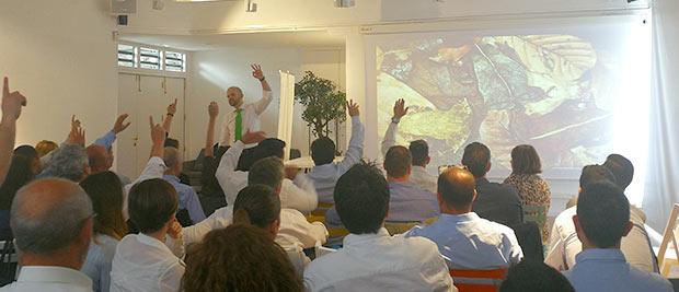 Convenciones Trina Zero 03 Encuentros de equipos comerciales Trina Zero