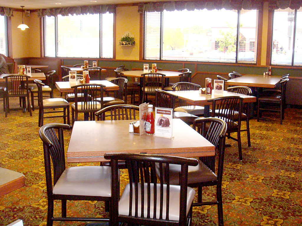 Bar restaurant tables