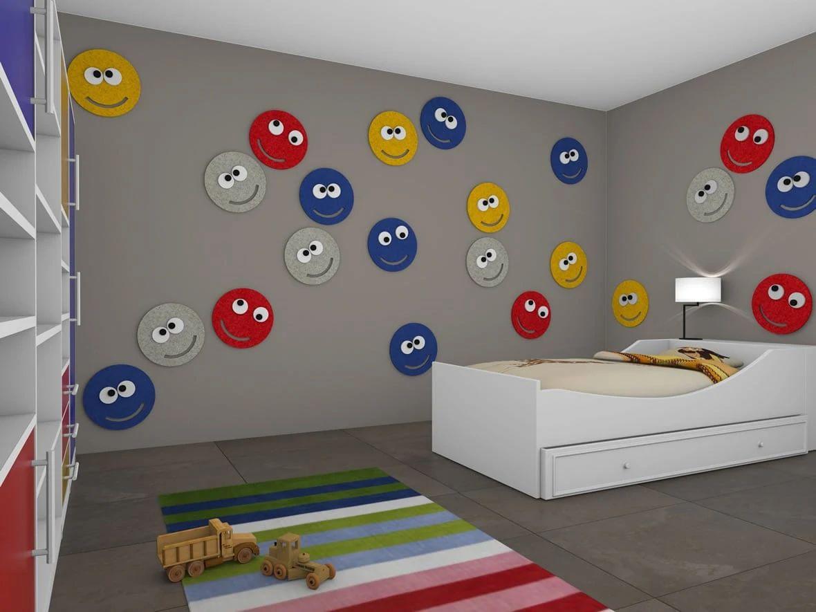 kinderzimmer junge wandgestaltung auto. Black Bedroom Furniture Sets. Home Design Ideas