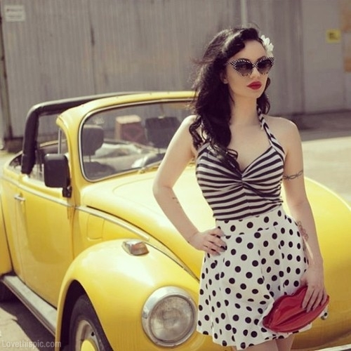 Polka Dots And Stripes Together? Yes Or No!? \u2013 Female Fatal - stripes with polka dots