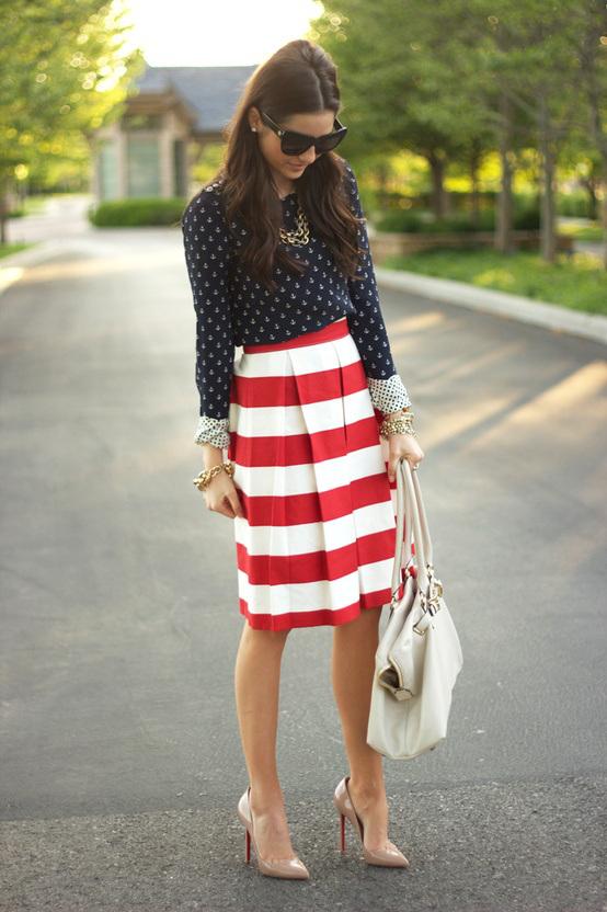 Polka Dots And Stripes Together? Yes Or No!? \u2013 Female Fatal