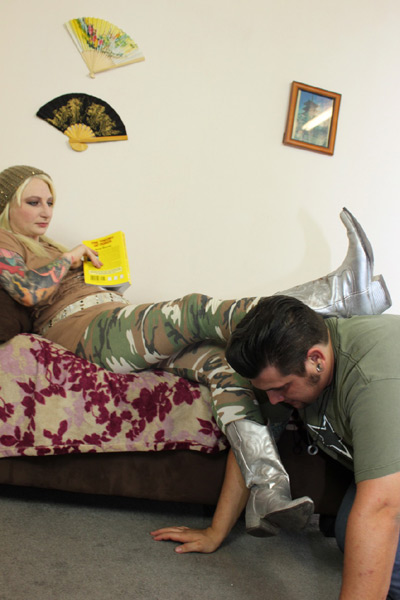 Human Furniture Femdom United Part 3