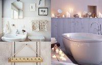 Deko- und Badezimmer-Ideen: Deko