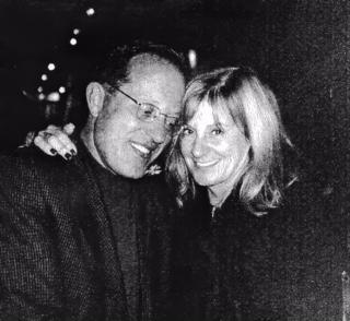 John and me. Post Mexico, Laguna Beach. Our last date.