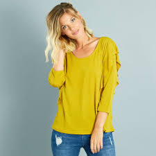t-shirt-jaune