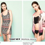 Pull & Bear Tropical Beach
