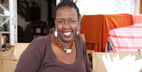 Wanjiru Kamau-Rutenberg.  Winner Of New African Woman Awards - Education Category