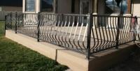 Decorative balcony Railings, Aluminum decorative railing