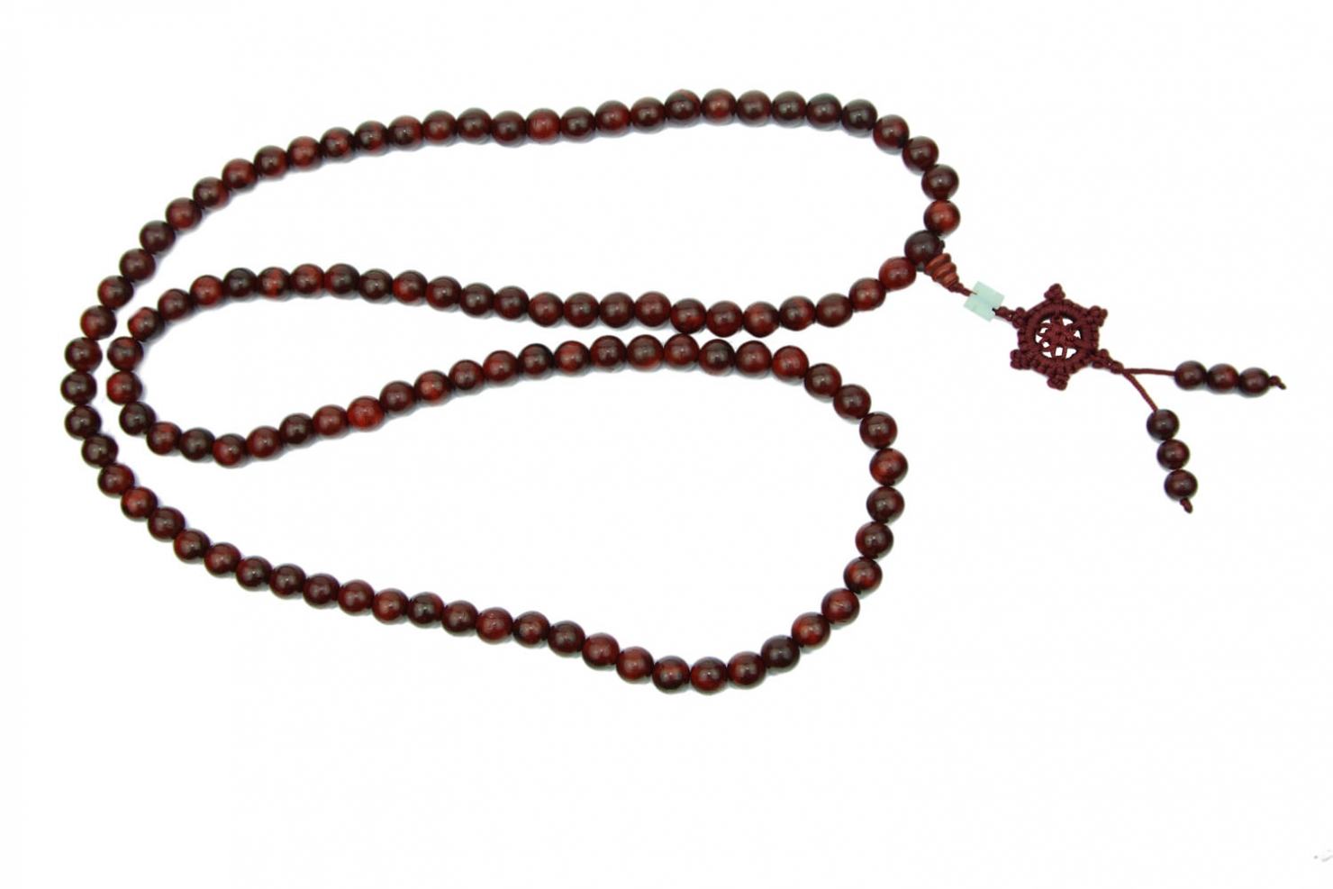 Buddha 108 Bead Mala Necklace For Meditation