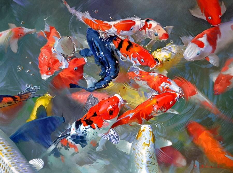 Arowana Fish 3d Live Wallpaper Koi Carp Feng Shui Lucky Fish Feng Shui London Uk The