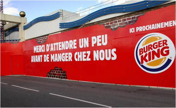 faire un cv pour burger king
