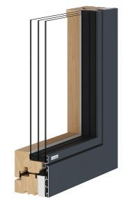 Holz-Alu-Fenster - Fenster Mnchen - Josef Maier