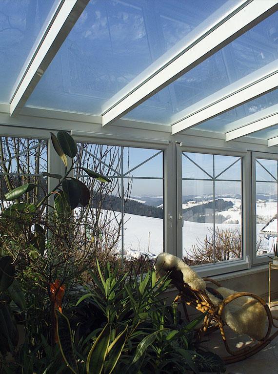 ... Wohnwintergarten Wintersonne Verglasung Haus Design Ideen   Tipps  Pflege Pflanzen Wintergarten ...