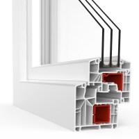aluplast IDEAL 8000 Premium-Profil-System mit 6 Kammern