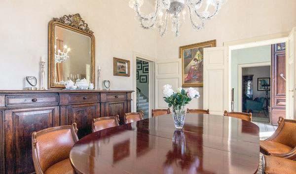 Ferienhaus Italien für 12 Personen in Crespina Ferienhaus Italien - esszimmer 12 personen