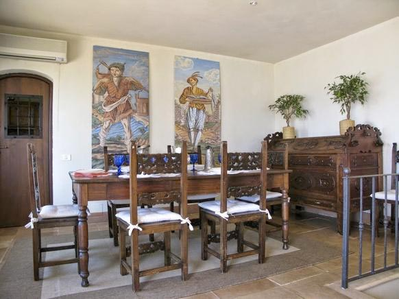 Ferienhaus Italien für 12 Personen in Fonteblanda Ferienhaus Italien - esszimmer 12 personen