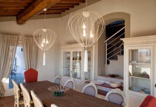 Ferienhaus Italien Privat Für 10 Personen In Reggello Ferienhaus    Esszimmer 10 Personen
