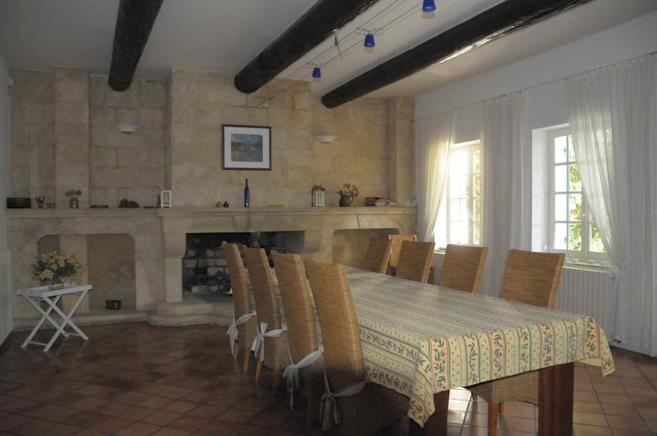 Ferienhaus Provence Privat 10 Personen Sarrians Ferienhaus Provence   Esszimmer  10 Personen