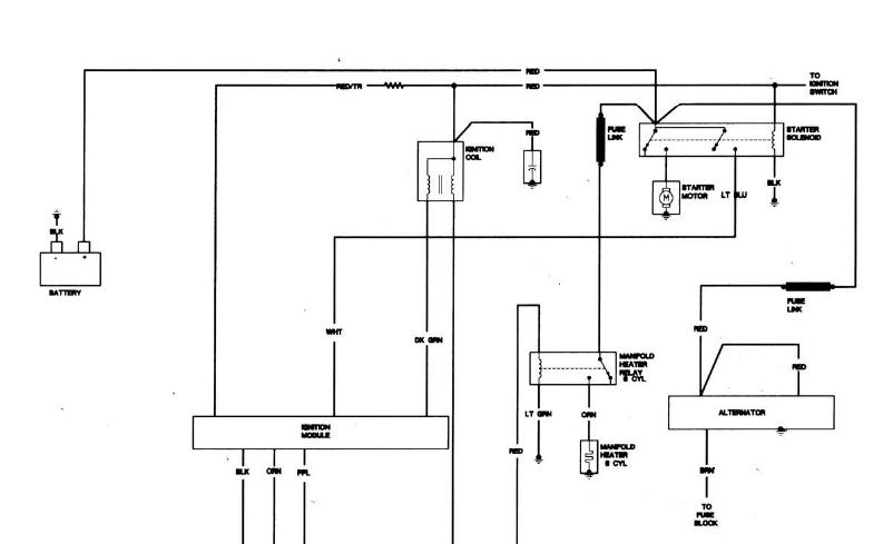 chevy electric choke wiring