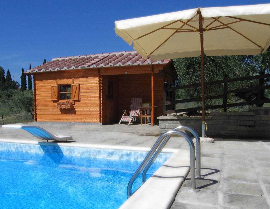casetta + piscina