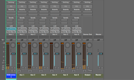 Multi Output in The Logic Mixer