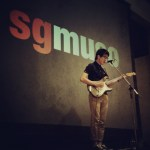 Charlie Lim performing at the Singapore Music Dialogue (sgmuso)
