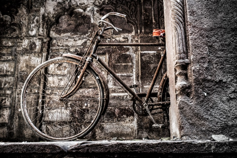 Rajasthan HDR Bicycle