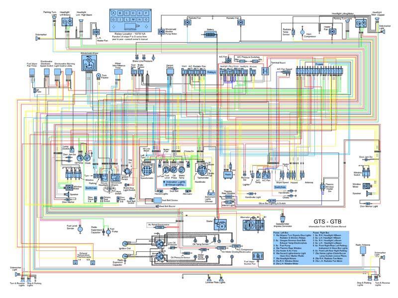 Ferrari 308 Wiring Diagram - Wiring Data schematic