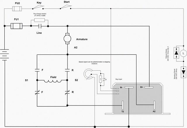Dc Motor Wiring Diagram Wiring Diagram