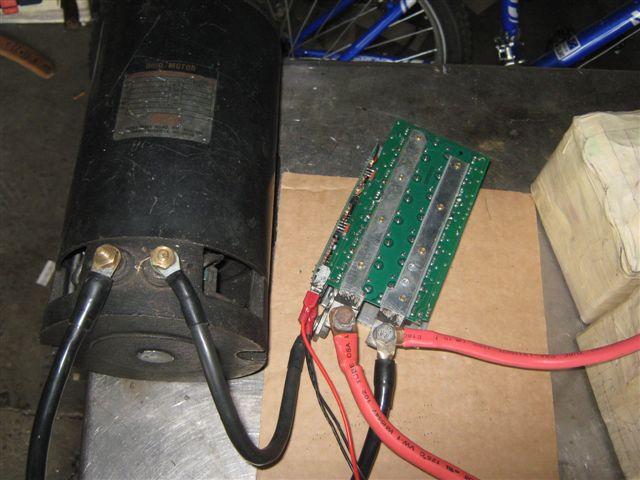 DC motor controller upgrade