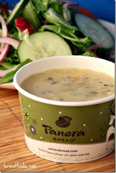panera chicken and wild rice soup