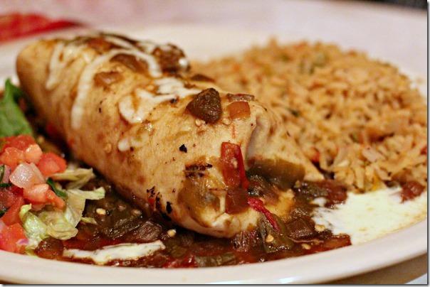 Chuys Steak Burrito